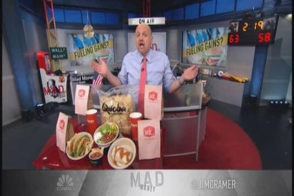 Cramer's favorite restaurant stock
