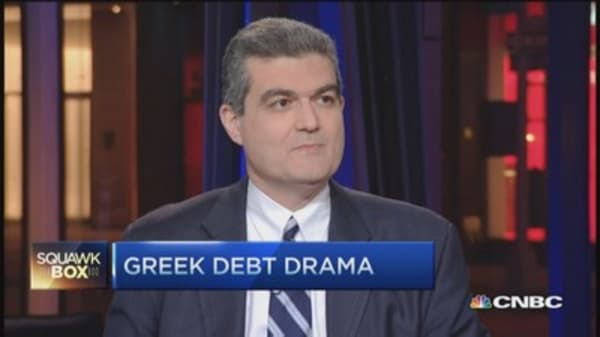 Greece issue not economic, but political: Pro