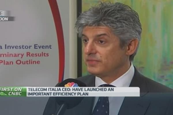 Telecom Italia CEO 'satisfied' with 2014 results