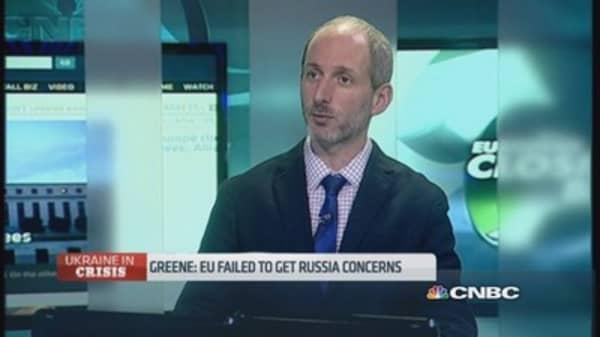 Greene: EU failed to get Russia concerns