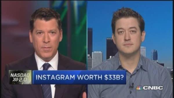 Instagram really worth $33 billion?