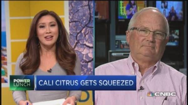 Cali citrus gets squeezed