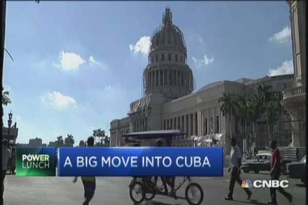 America's telecom foray into Cuba