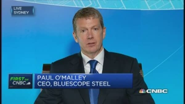 Bluescope Steel: Expect an uptick in steel prices