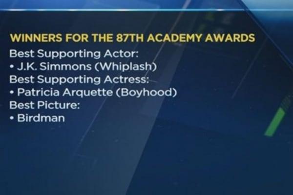'Birdman' wins big at Oscars 2015