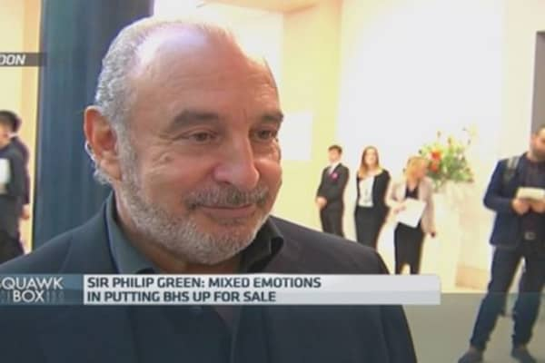We lost focus with BHS: Philip Green