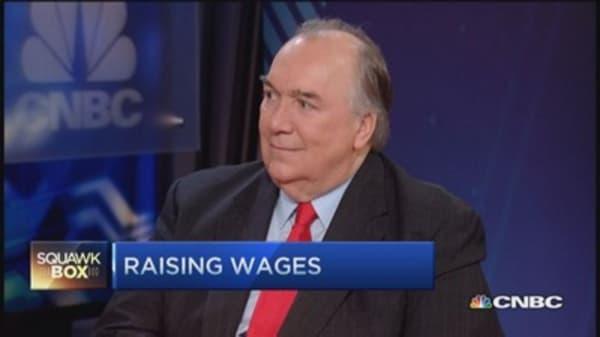 Grow'em & train'em wage growth plan