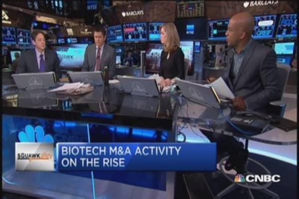 Biotech on the rise; Analyst likes Gilead