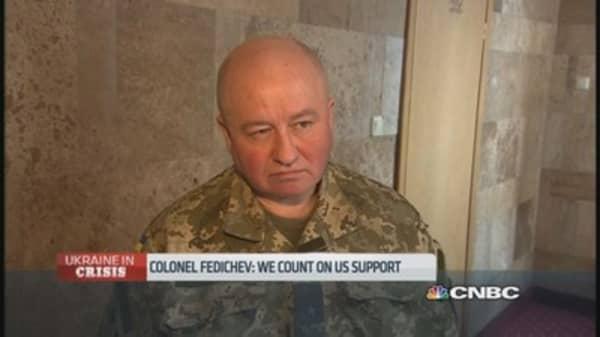 Ukraine commander: We count on US support