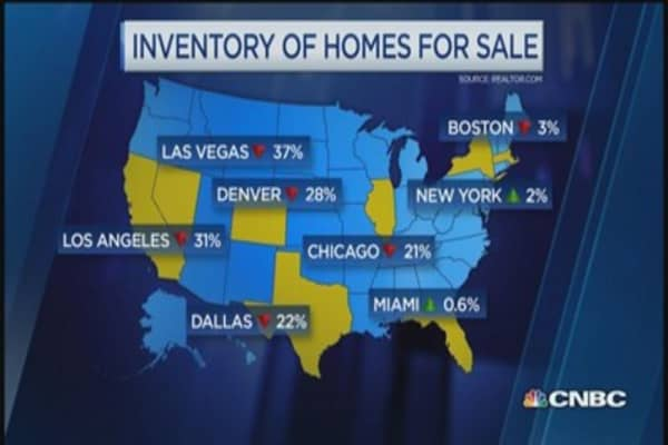 Jan. existing home sales plunge