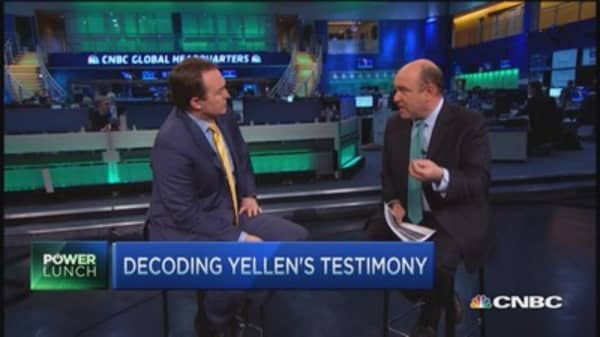 Decoding Yellen's testimony