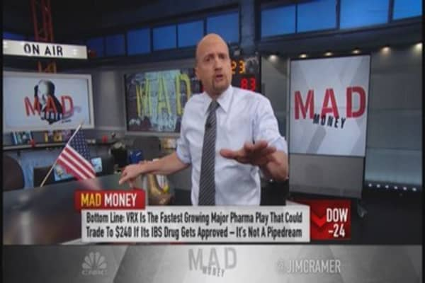 Cramer: Valeant still worth buying