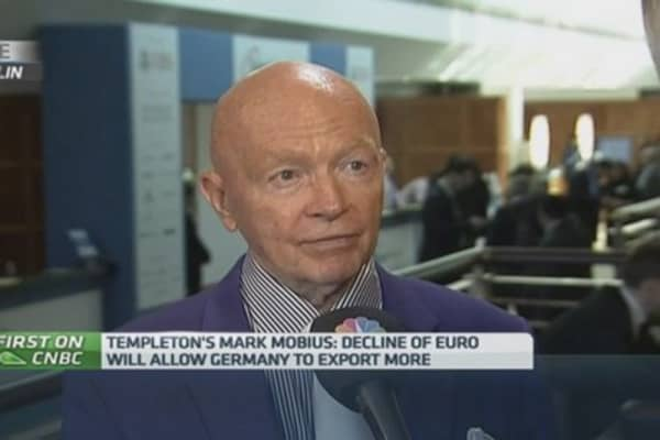 Mobius: Still optimistic about Greece