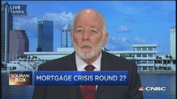 Mortgage meltdown brewing? Dick Bove