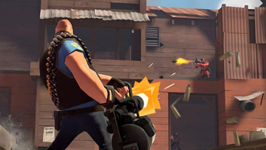 An image from Valve Software's Team Fortress 2