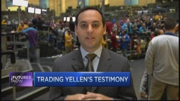 Yellen's words a reason to buy bonds: Trader