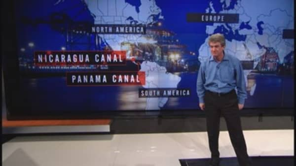 Nicaragua looks compete with Panama Canal