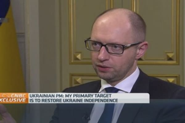 Russians, get out of our land: Ukraine PM