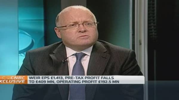 We're cutting costs: Weir Group
