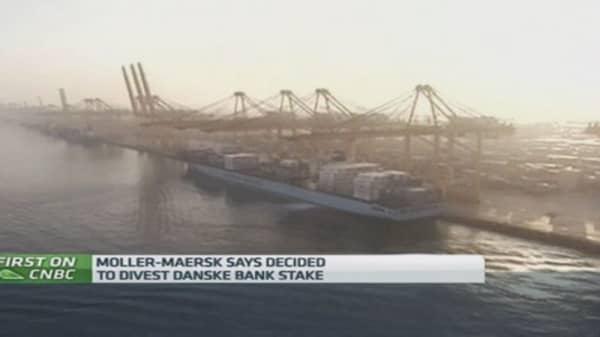 Danske Bank stake sale 'important': Moller Maersk