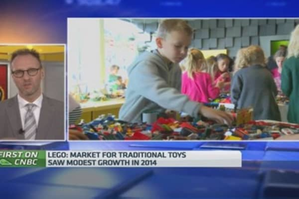 Lego CEO sees strong growth in Russia