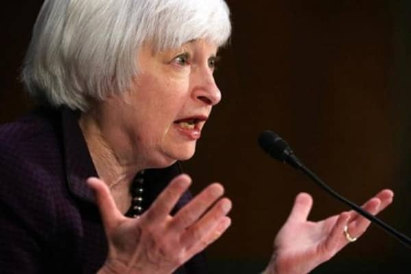 Yellen testimony helps fuel record run