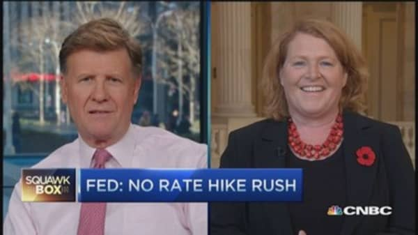 Sen. Heitkamp, getting Yellen's point of view