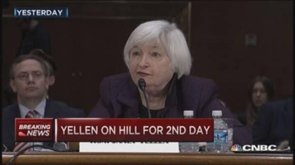 Day two of Yellen testimony