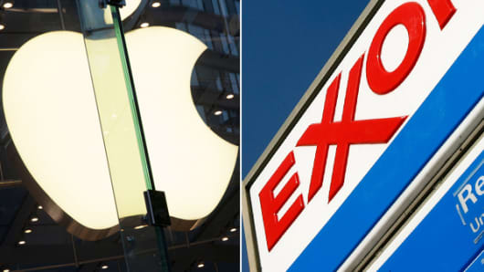 Apple and Exxon