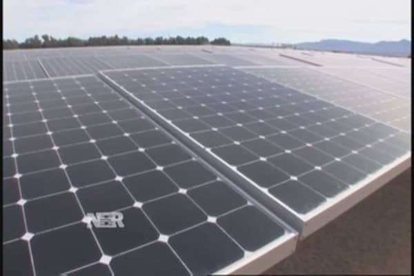 Growing solar industry trend