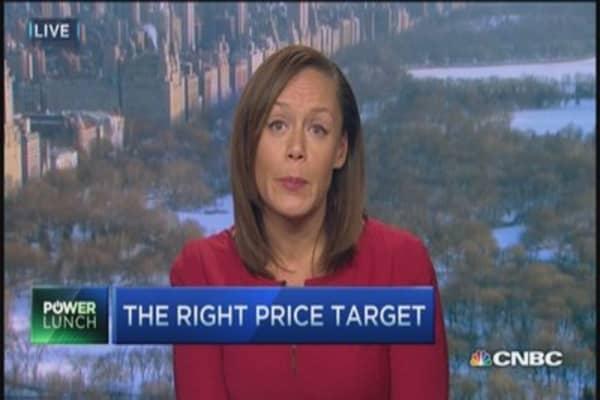 Target has a ... target