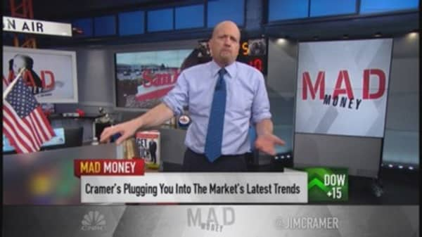 Cramer: Dedicated money being shifted around