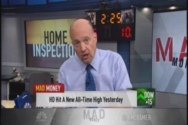 Housing mystery solved; Cramer looks at HD