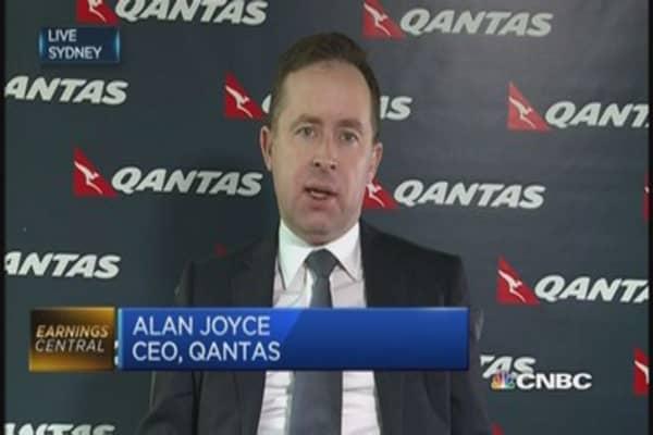 Qantas soars back to profitability