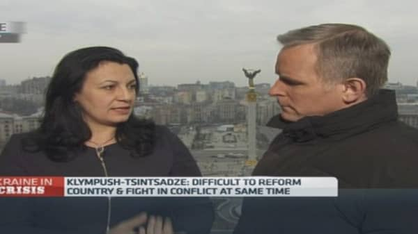Difficult to reform and fight war: Ukraine MP