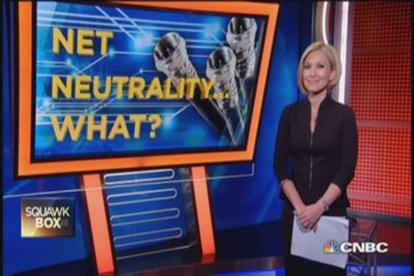 What is net neutrality anyway?