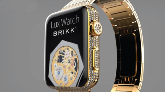 The Lux Watch by Brikk