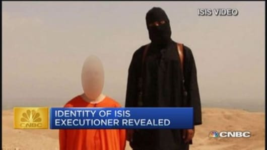 CNBC update: ISIS executioner revealed