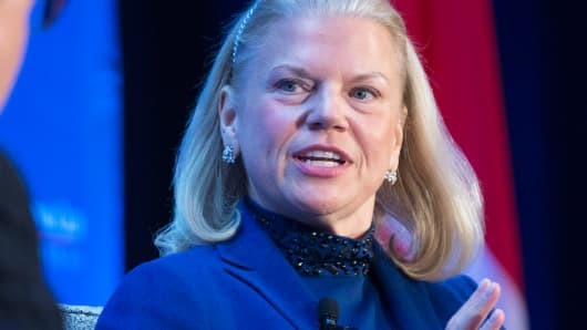 Virginia 'Ginni' Rometty, CEO, IBM
