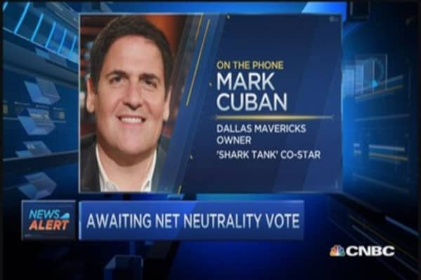 Cuban on Net neutrality: TV as you know it is over