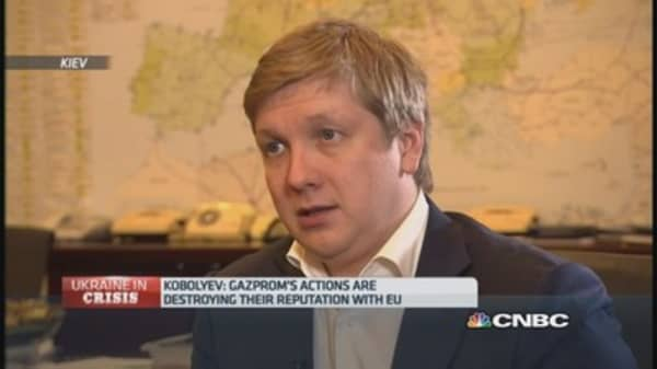 Naftogaz CEO on Russia and pre-paid gas