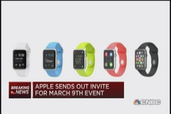 Special Apple invite... watch for it