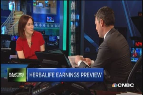 Crucial quarter for Herbalife?