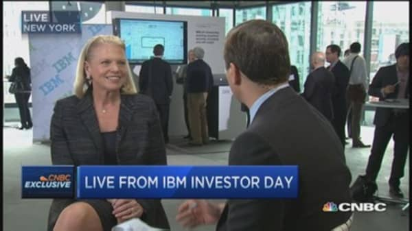 Rometty: IBM a high value innovation company