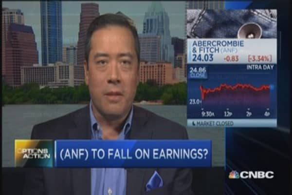 Options Action: Abercrombie & ditch?