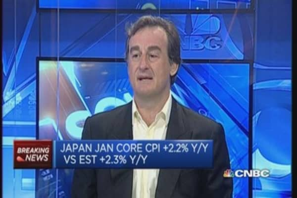 Are Japanese consumers running out of money?