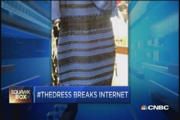 The dress color original image of black