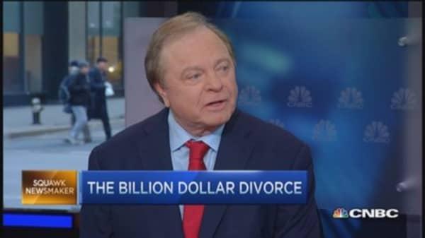 Divorce... check got the job done: Harold Hamm