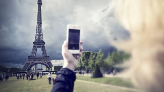 Smart phone Paris