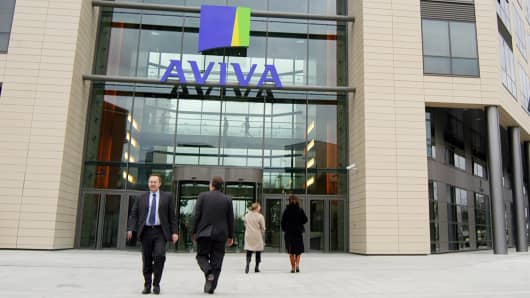 Aviva France's head office in Paris.